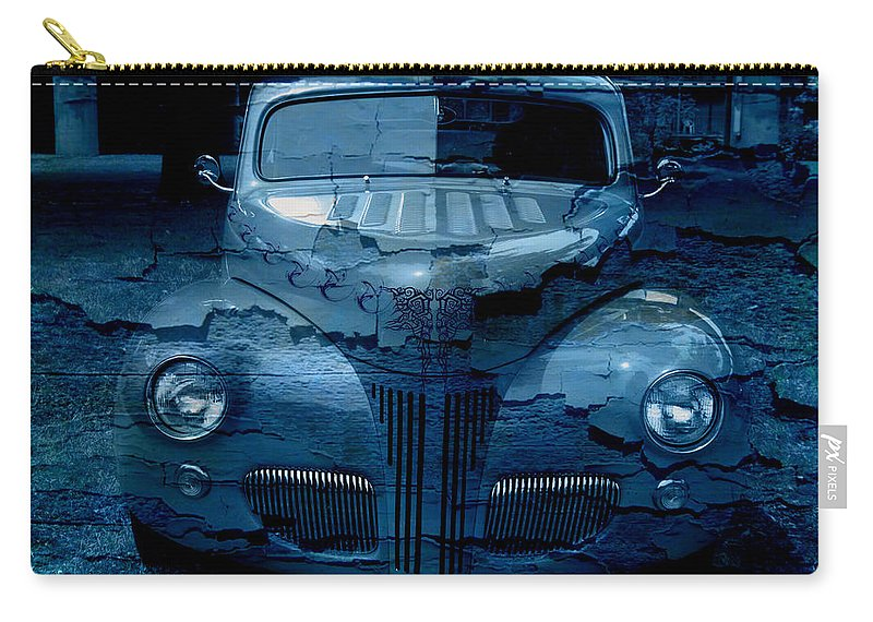 Classic Carry-all Pouch featuring the digital art Cool Classic by Teri Schuster