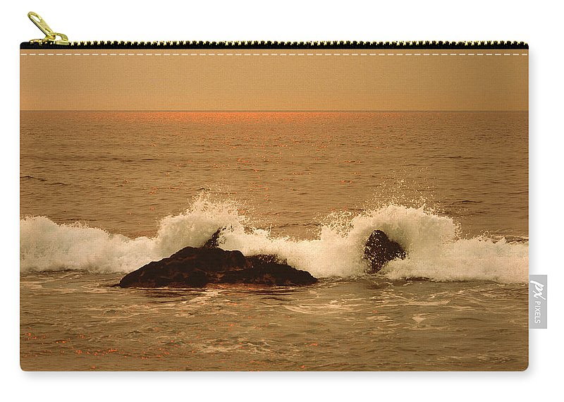 Beach Carry-all Pouch featuring the photograph Corona Del Mar 4 by Mark Greenberg