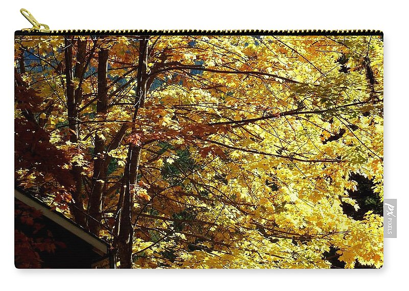 Autumn Carry-all Pouch featuring the photograph Country Color 22 by Will Borden