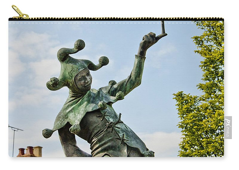 England Carry-all Pouch featuring the photograph Court Jester by Jon Berghoff