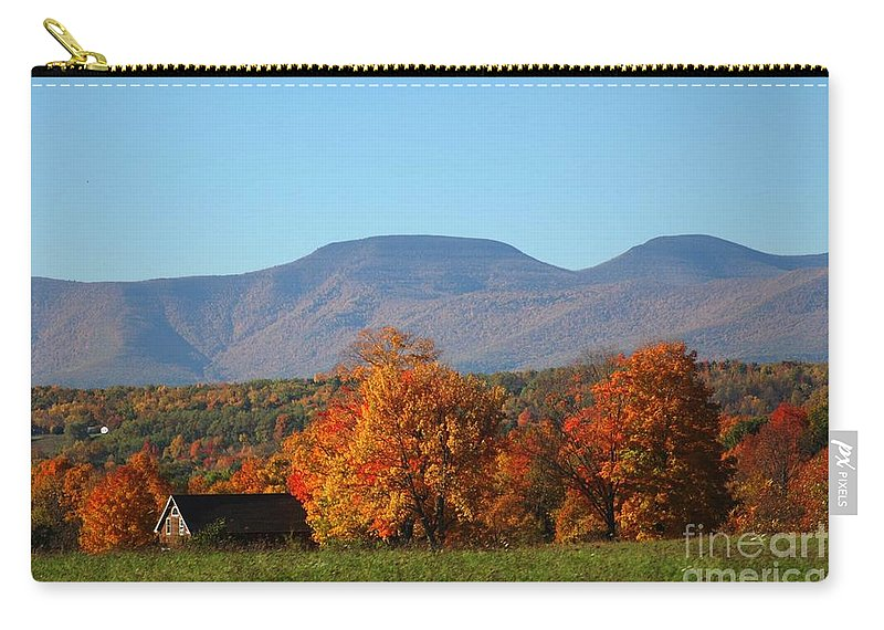 Fall Carry-all Pouch featuring the photograph Coxsackie New York State by Mark Gilman