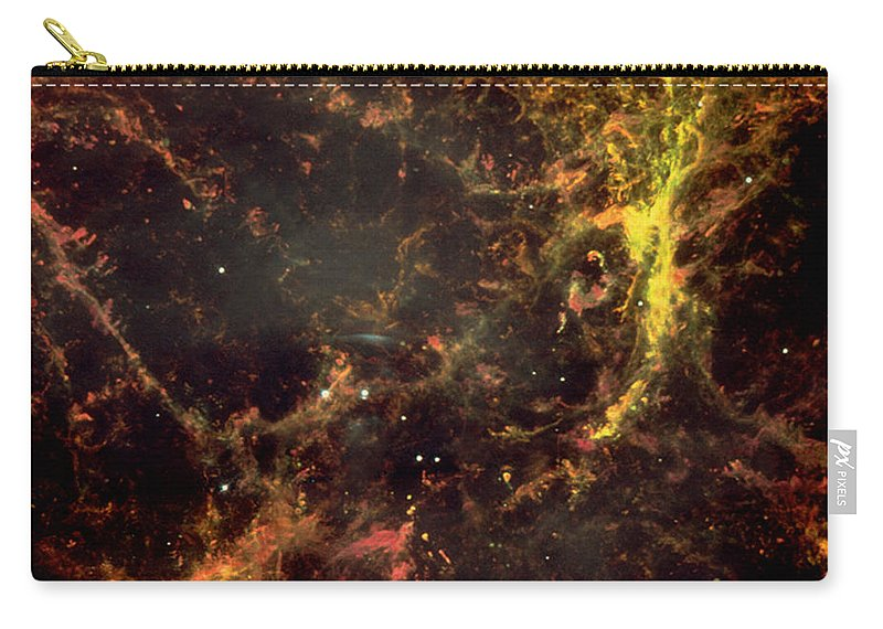 Astronomy Carry-all Pouch featuring the photograph Crab Nebula by Nasa