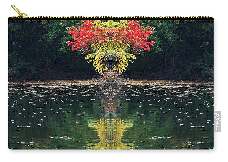 Carry-all Pouch featuring the photograph Creation 112 by Mike Nellums