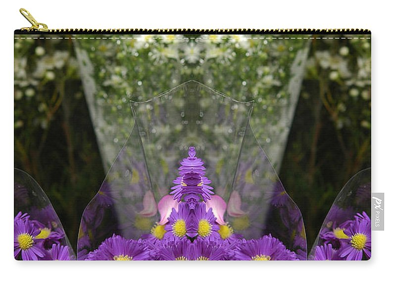 Carry-all Pouch featuring the photograph Creation 133 by Mike Nellums