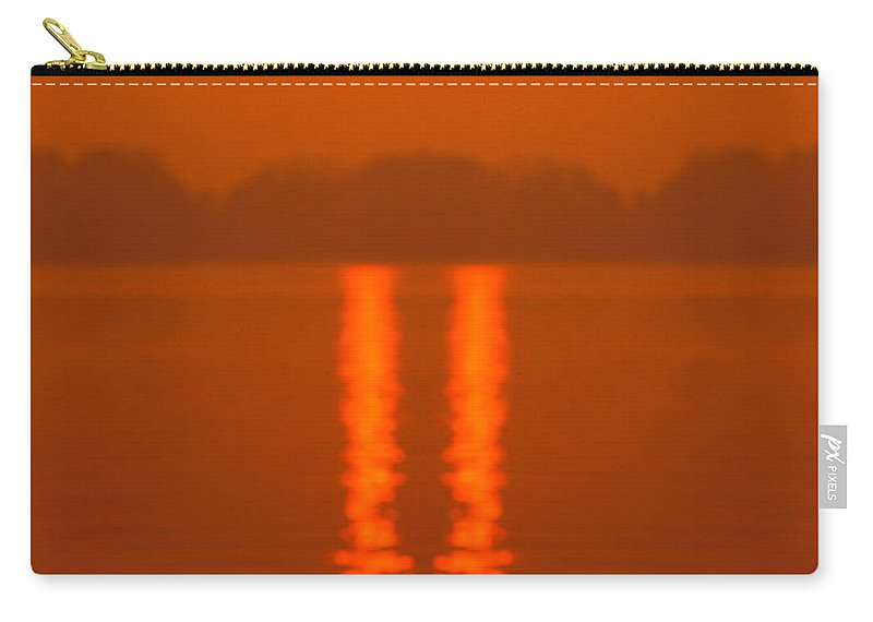 Carry-all Pouch featuring the photograph Creation 144 by Mike Nellums