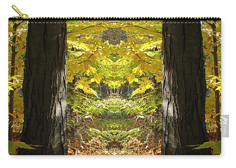 Carry-all Pouch featuring the photograph Creation 40 by Mike Nellums