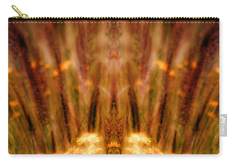 Carry-all Pouch featuring the photograph Creation 57 by Mike Nellums