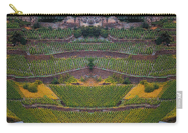 Carry-all Pouch featuring the photograph Creation 6 by Mike Nellums
