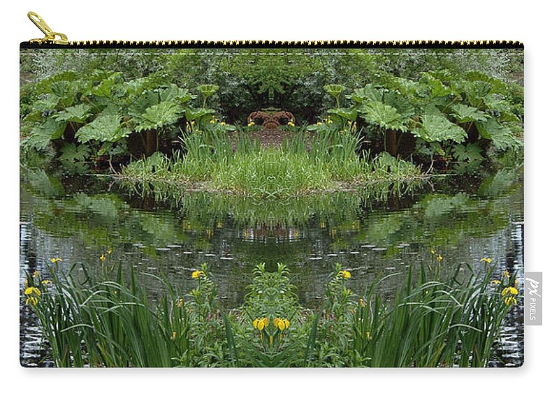 Carry-all Pouch featuring the photograph Creation 67 by Mike Nellums