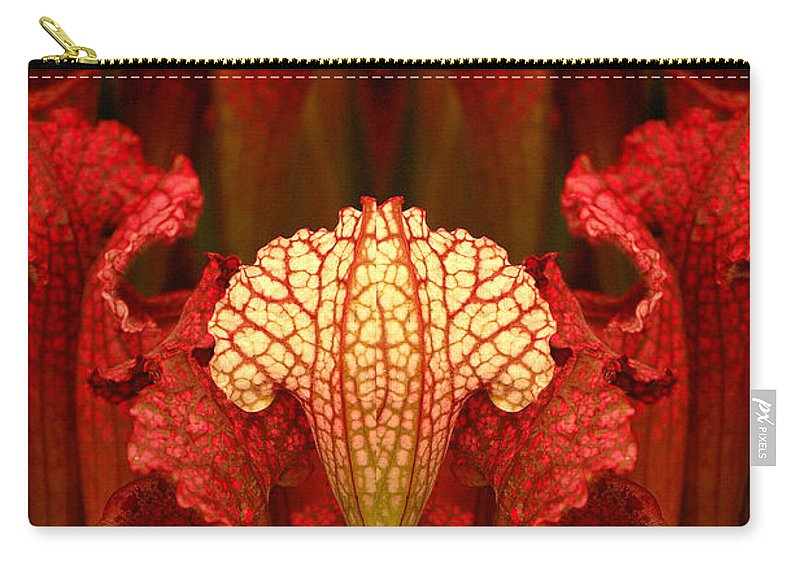 Carry-all Pouch featuring the photograph Creation 68 by Mike Nellums