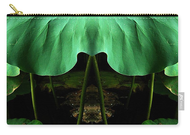 Carry-all Pouch featuring the photograph Creation 72 by Mike Nellums