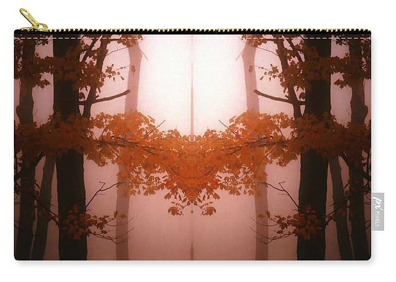 Carry-all Pouch featuring the photograph Creation 76 by Mike Nellums