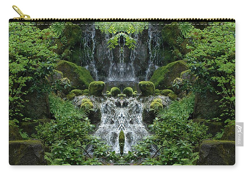 Carry-all Pouch featuring the photograph Creation 99 by Mike Nellums
