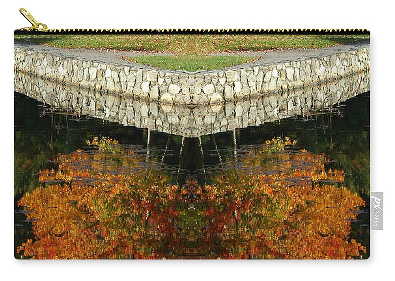 Carry-all Pouch featuring the photograph Creation16 by Mike Nellums