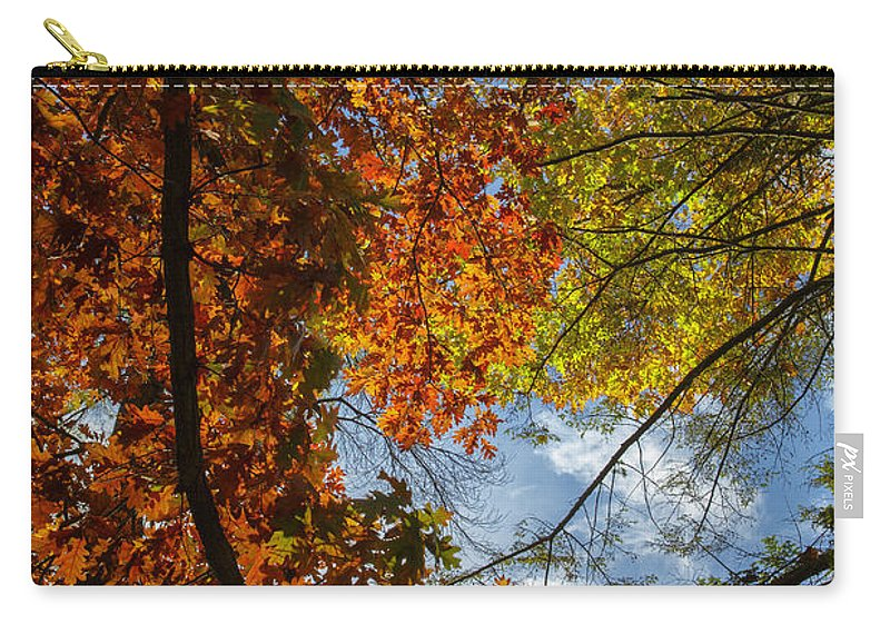 Autumn Carry-all Pouch featuring the photograph Crimson And Gold by Rick Berk