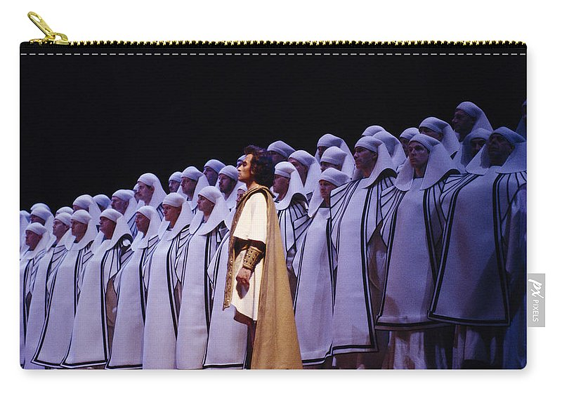 Verdi Carry-all Pouch featuring the photograph Spectacular Aida by Shaun Higson