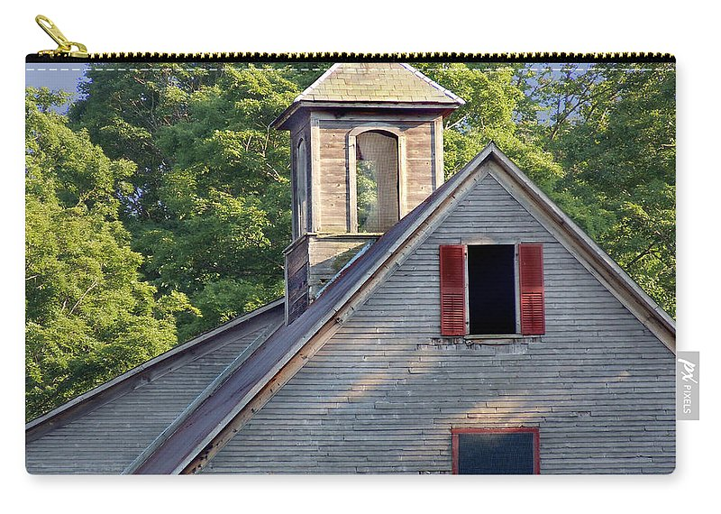 Barn Carry-all Pouch featuring the photograph Cupola In Light by Nancy Griswold