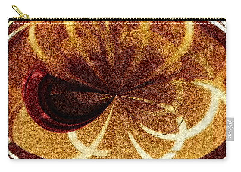 Paula Ayers Carry-all Pouch featuring the digital art Curves by Paula Ayers