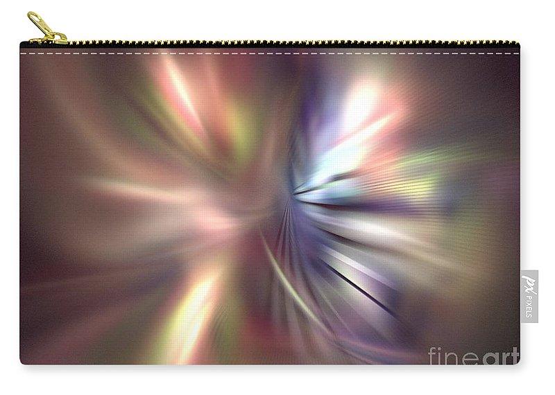 Apophysis Carry-all Pouch featuring the digital art Cygnus by Kim Sy Ok
