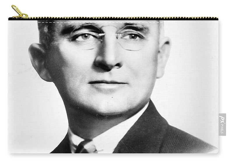 1940s Carry-all Pouch featuring the photograph Dale Carnegie (1888-1955) by Granger
