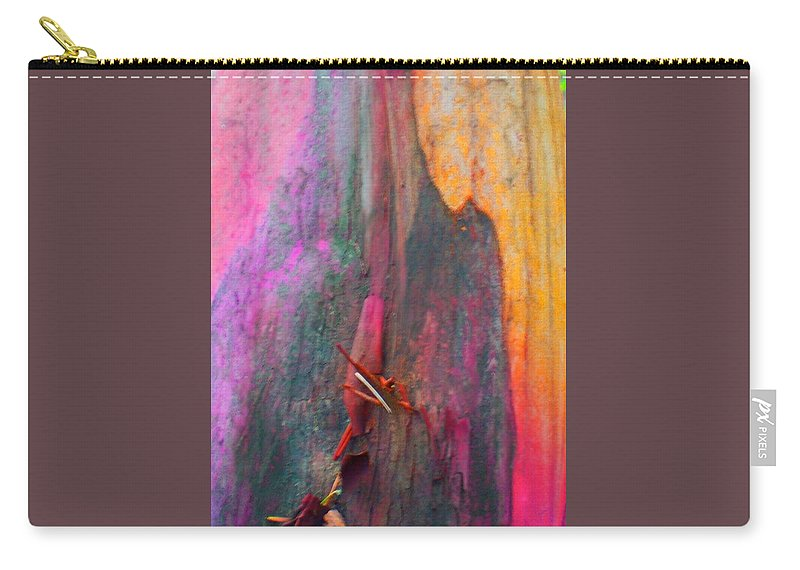 Nature Carry-all Pouch featuring the digital art Dance For The Earth by Richard Laeton