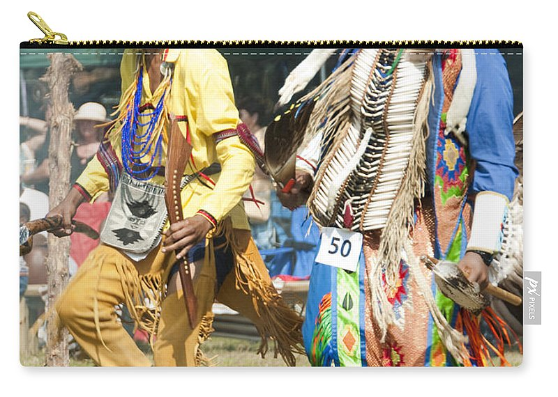 Photography Carry-all Pouch featuring the photograph Dancers Male by Steven Natanson