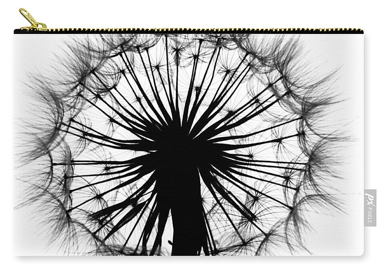Dandelion Carry-all Pouch featuring the photograph Dandelion by Garry McMichael