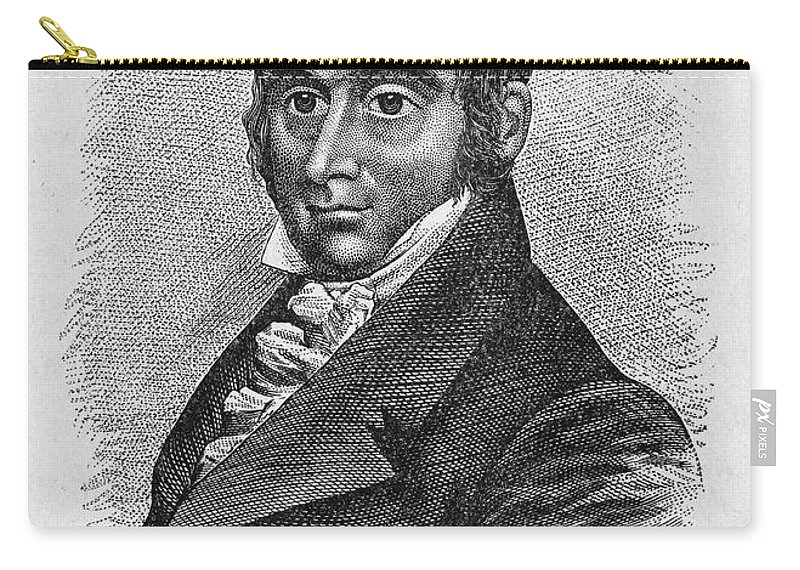 18th Century Carry-all Pouch featuring the photograph Daniel Webster (1782-1852) by Granger