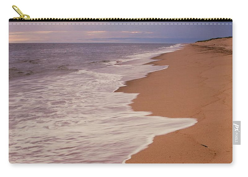 Seascape Carry-all Pouch featuring the photograph Dark And Stormy by Roupen Baker
