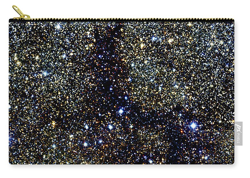 2mass Project Carry-all Pouch featuring the photograph Dark Nebula, G11.11-0.12, Infrared Image by 2MASS project NASA