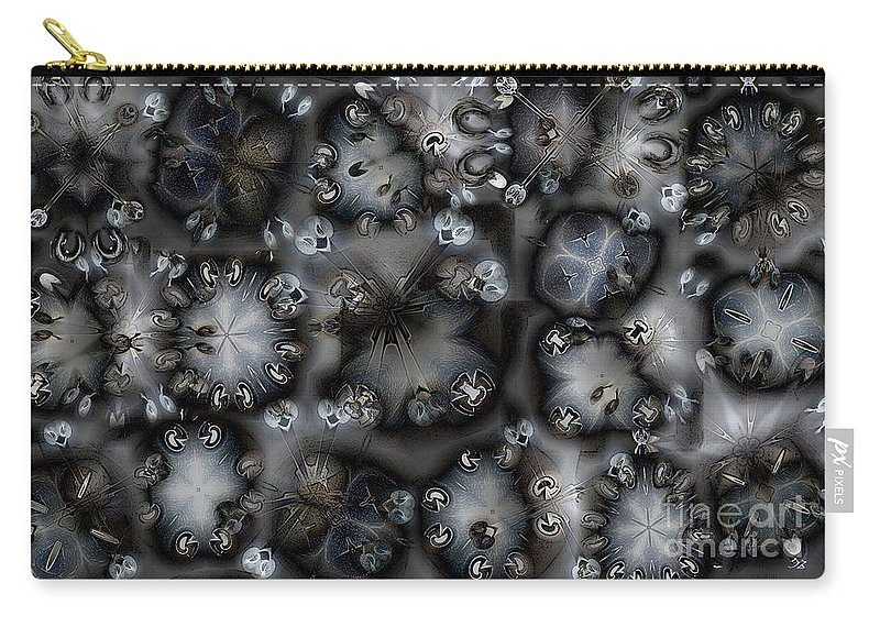Collage Carry-all Pouch featuring the digital art Darkling by Ron Bissett