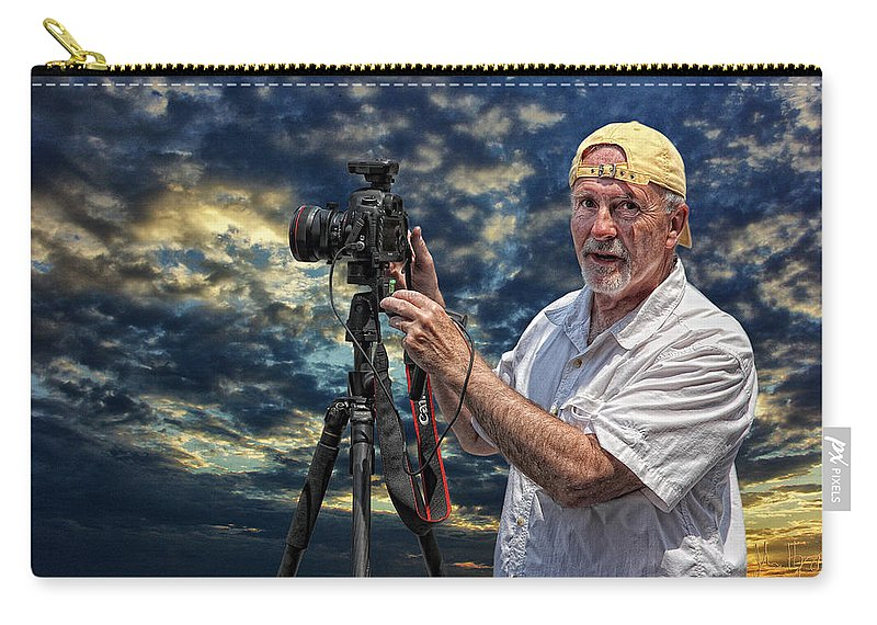 Xdop Carry-all Pouch featuring the photograph Dave Bell - Photographer by John Herzog