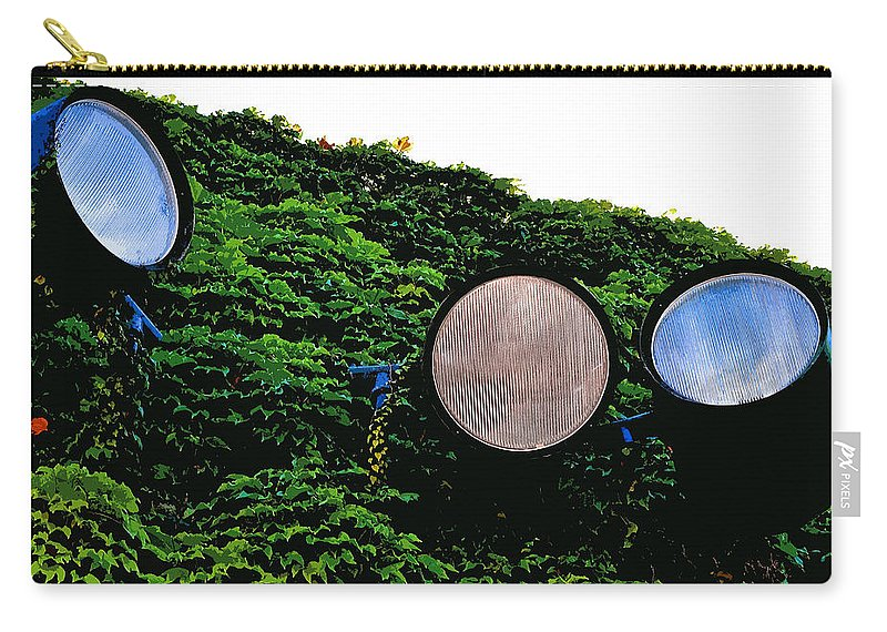Day Lights Carry-all Pouch featuring the photograph Day Lights by Bill Owen
