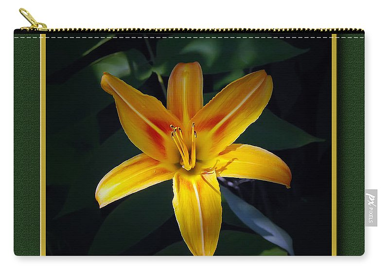 2d Carry-all Pouch featuring the photograph Day Lilly by Brian Wallace