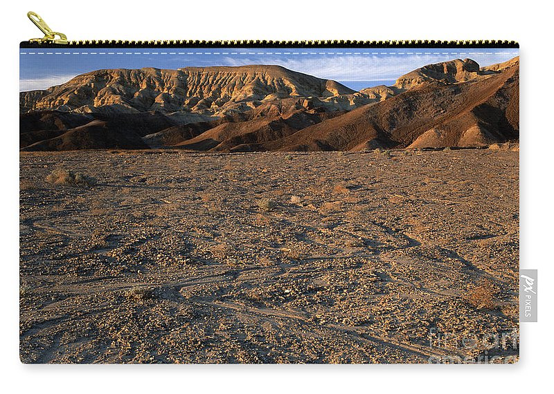 Sandra Bronstein Carry-all Pouch featuring the photograph Death Valley by Sandra Bronstein