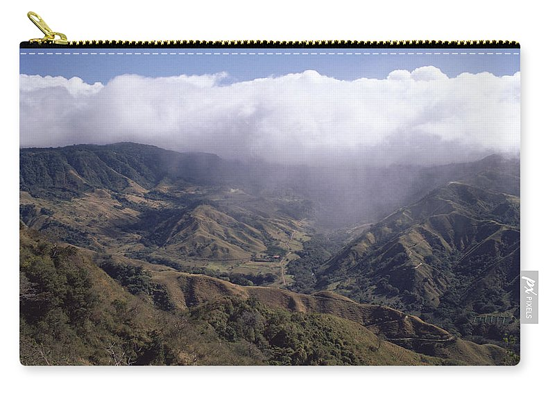 Mp Carry-all Pouch featuring the photograph Deforested Hills, Monteverde Cloud by Michael & Patricia Fogden