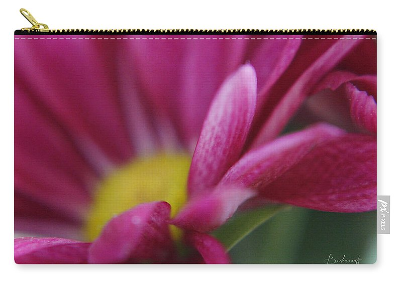 Stamen Carry-all Pouch featuring the photograph Delicacy by Robin Lewis