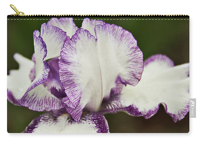 Iris Carry-all Pouch featuring the photograph Delicate Ruffles 3 by Angelina Tamez