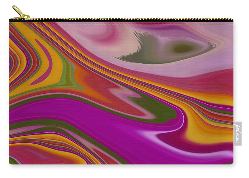 Abstract Carry-all Pouch featuring the photograph Delight by Aimee L Maher ALM GALLERY
