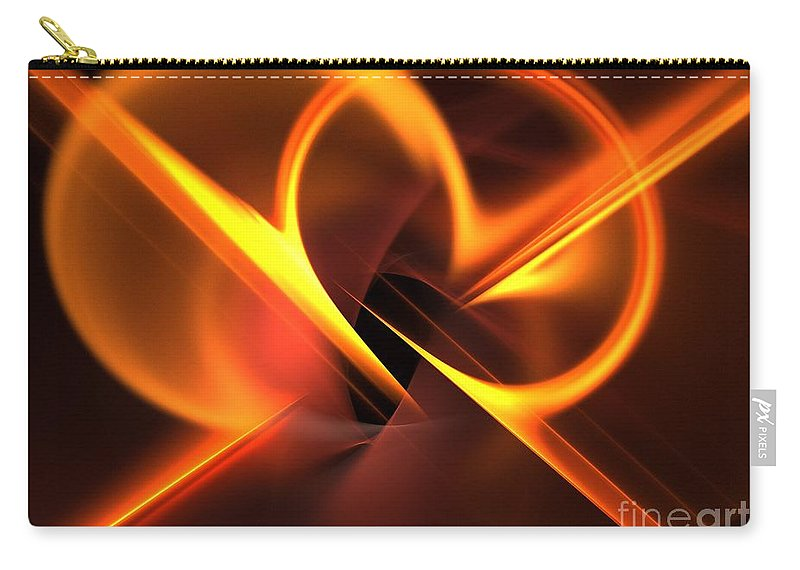 Apophysis Carry-all Pouch featuring the digital art Density by Kim Sy Ok