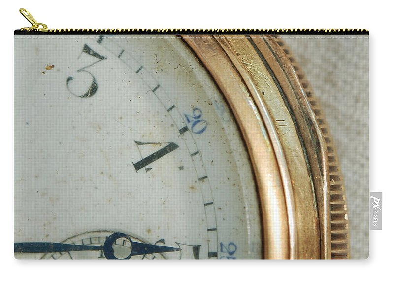 Antique Carry-all Pouch featuring the photograph Details Of Time 2 by Kay Lovingood