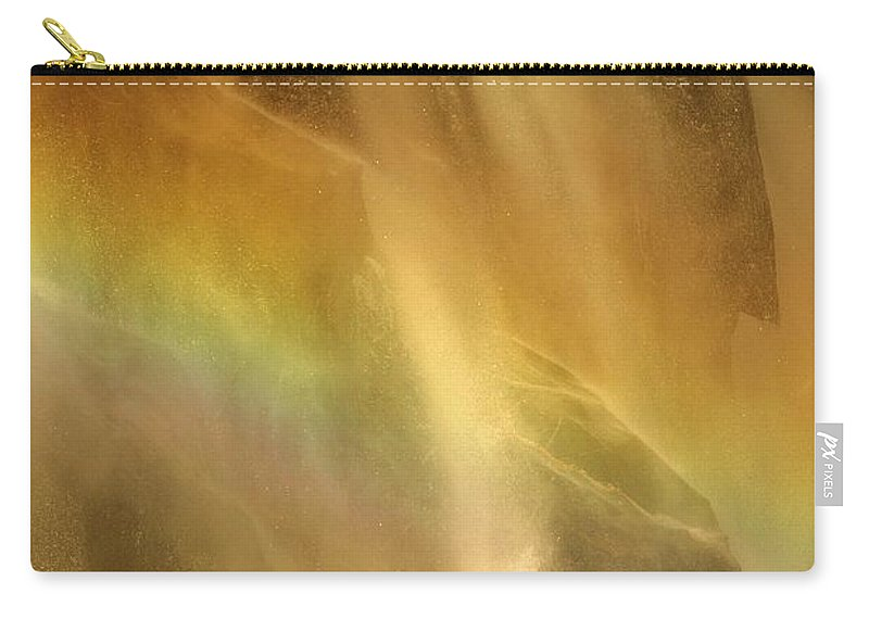 Yosemite National Park Carry-all Pouch featuring the photograph Devil In The Rainbow by Adam Jewell