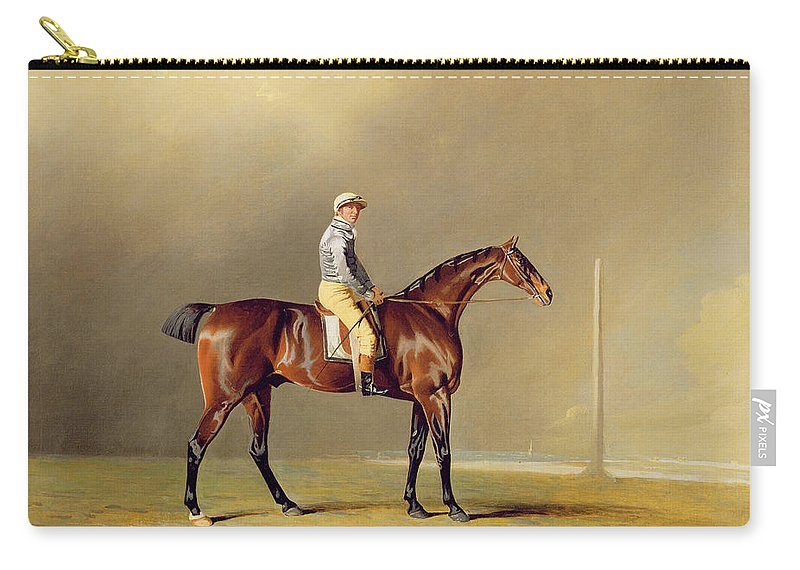 Xyc136263 Carry-all Pouch featuring the photograph Diamond - With Dennis Fitzpatrick Up by Benjamin Marshall