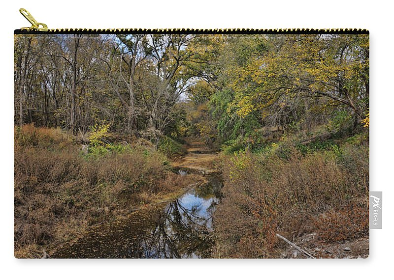 Landscape Carry-all Pouch featuring the photograph Diamond Creek by Alan Hutchins