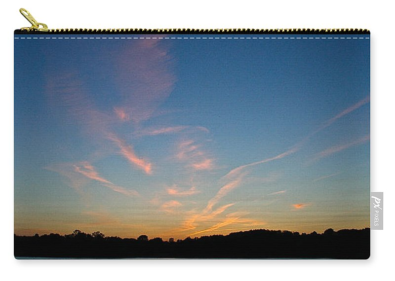 Outdoor Carry-all Pouch featuring the photograph Dissipating by Susan Herber