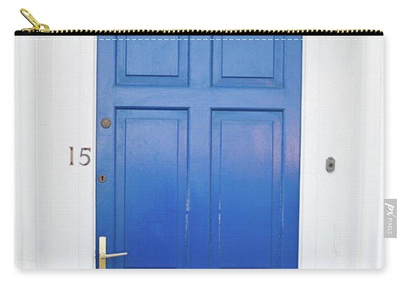 Door Carry-all Pouch featuring the photograph Door In Ireland 4 by Douglas Barnett