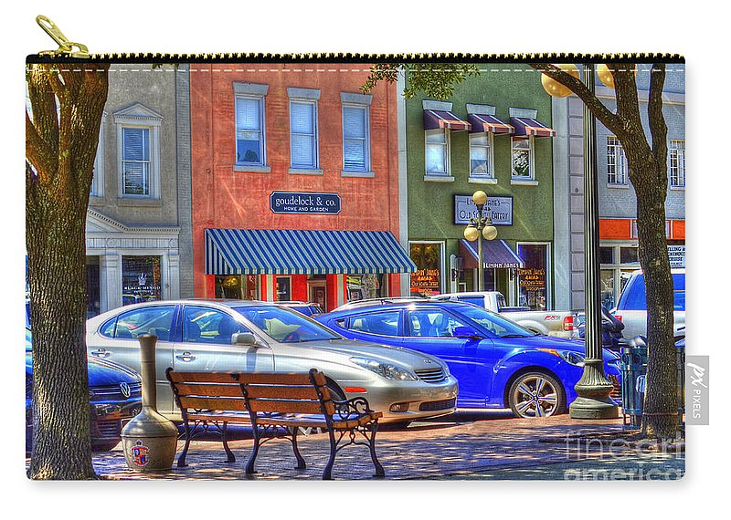 Downtown Carry-all Pouch featuring the photograph Downtown Georgetown by TJ Baccari