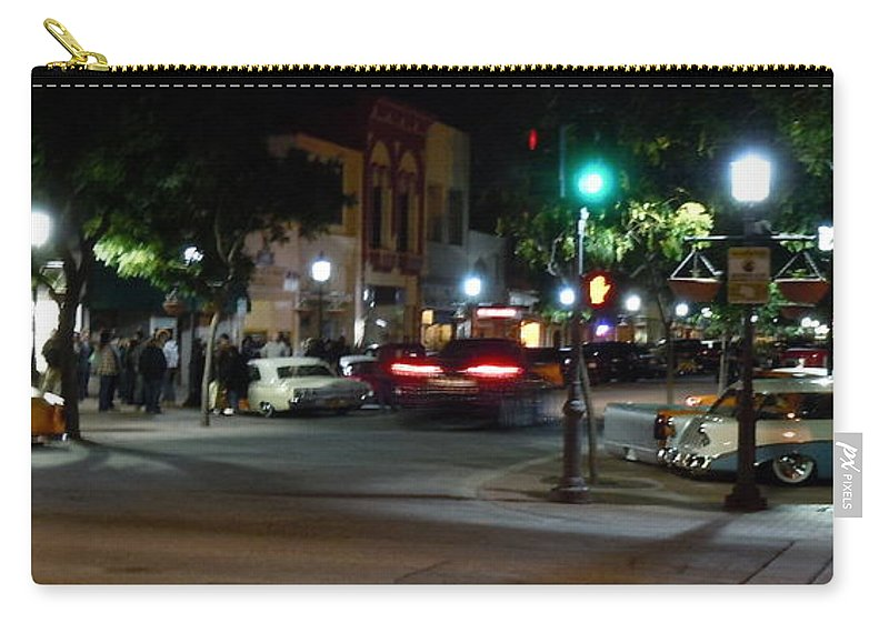Main Carry-all Pouch featuring the photograph Downtown by Customikes Fun Photography and Film Aka K Mikael Wallin