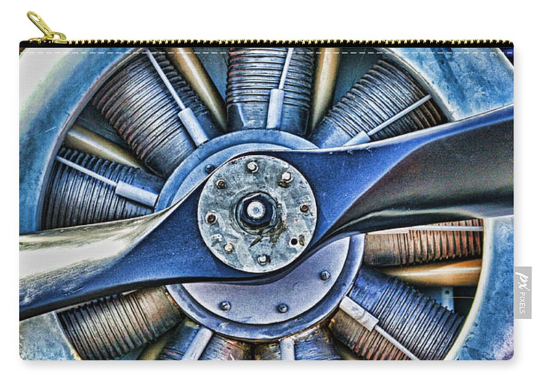 Airplanes Carry-all Pouch featuring the photograph Dp1179-10 by Randy Harris