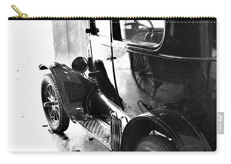 Old Car Carry-all Pouch featuring the photograph Dr Jones by The Artist Project